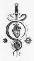 Caduceus Heart - Tattoo Commission by Cryptostylis