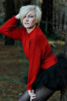 Lady in red1 by retrotrashphotogrphy