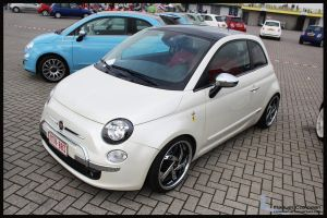 2010 Fiat 500 by compaan-art