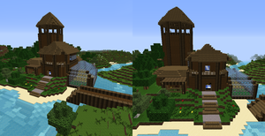 My Survival House on RadialCraft by EmilyDaCool