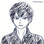 Kageyama Quick Animation by Andromeda15