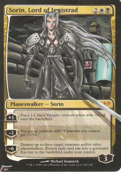 Sephiroth, Lord of Innistrad by BlackWingStudio