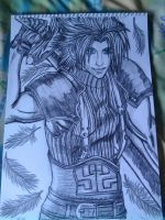 Zack Fair Soldier 1st Class by Laineyfantasy