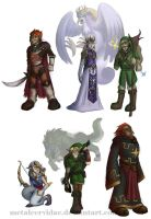 TLoZ - Other Legends by metalcervidae