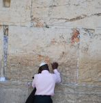 Man at the Western Wall by dpt56
