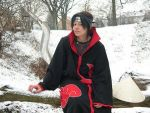 Itachi in the snow by NarutoCosplayClub