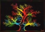The Tree of Rainbow by stevenphan3000