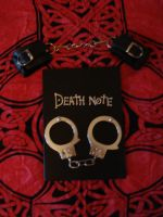 Death Note and handcuffs 2 by Lost-in-Death