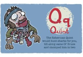 Q is for Quint by Ape74