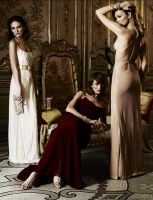 Laura, Nieves, Esther by ALILAR