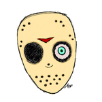 Jason Mask (Transparent) by Dysfunctional-H0rr0r