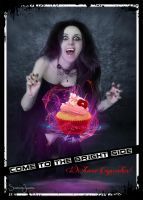 Come to the Bright Side - We have Cupcakes by Ischenda