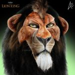 Scar Portrait- The Lion King by Andersiano
