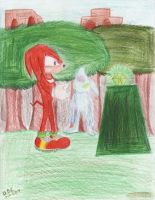 Knuckles and Chaos 0 by Spinky1
