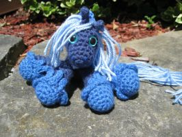 Mini Princess Luna Plushie Amigurumi 1 by RTakeshi