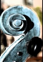 cello scroll by Phaethon666