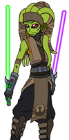 Dekoh Kash, the padawan. by DaGreatVincE
