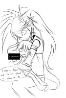 cuddle ...not by mikimikkiichan