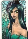 ACEO 90: The Mane Event: Evil Hair by Forunth