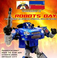 Robots Day at Oxford School by transformersph
