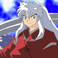 inuyasha coloured by LisaFeary