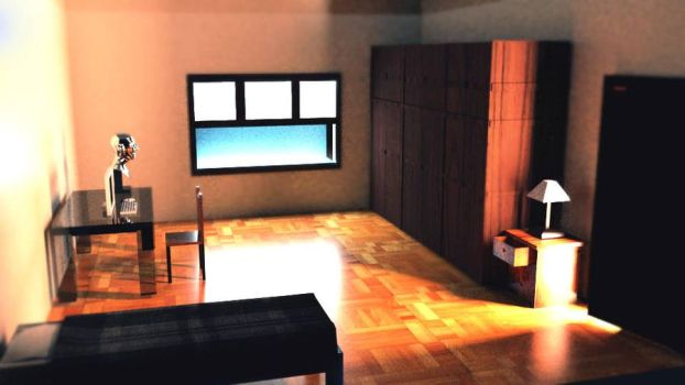 Room 3D Renderman by JulianaPorto