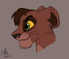 Kovu animation II by Juffs