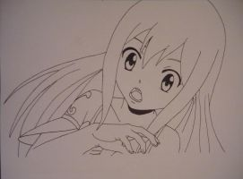 Wendy Marvell (Lineart) by Hlqb