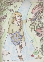 Link and Adventure by DogDemonsRock5