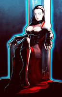 Scarlette Throne: Colors by Durandus