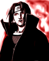 Itachi by TiaLeie