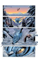 Snowmanilas #1, Page 1 by Theamat
