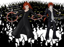 Axel and Reno by Tamie-Lee