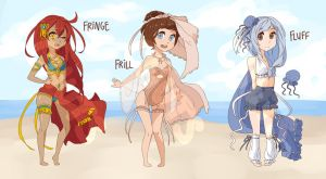 Beach BB's Adoptables Batch !! [OPEN] by CHUTSadopts