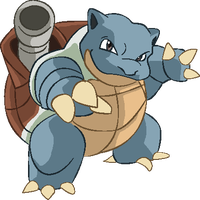 Personnages Libres : 009 Blastoise by Mechamyu