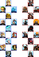 My Hyrule Warriors Roster List by MaikeruShinigami