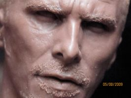 Christian Bale as John Connor2 by ZKULPTOR