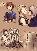 APH: Sketchies by cherlye