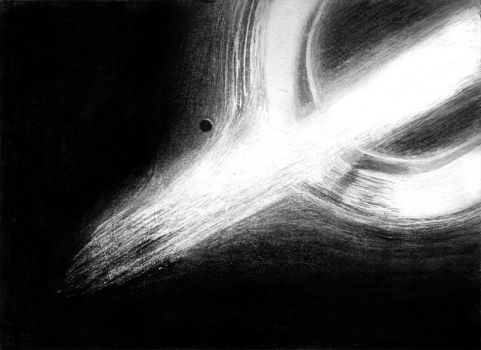 Black hole Gargantua by Betelgeuse7
