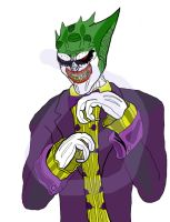 Vorcha Joker in color by Marvelguru