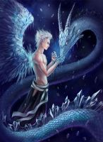 Ice dragon. Hitsugaya Toushiro by AksaArt