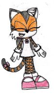 Lilly the Tiger by Loopy-Lass