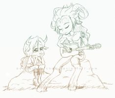A Song for the One I Love by Hasana-chan