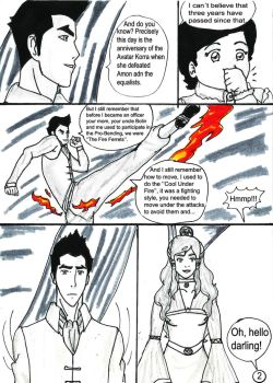Makorra comic pg2 by AryGarmu