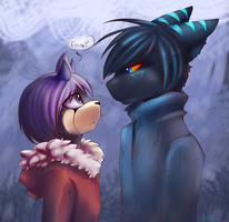 Kiss me .:Color:. by VallionShad