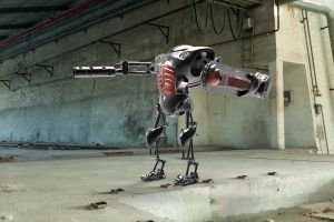 WarBot Mech by Blind0Fish