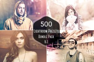 500 Pro Lightroom Presets Bundle on Sale for $15 by symufa