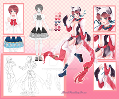 [Closed]ADOPT AUCTION- Magical Cat Girl by HanakoVermillion