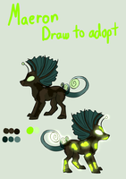 Draw To Adopt - Maeron - CLOSED by Forumsdackel