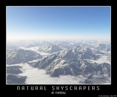 Natural Skyscapers - Midday by Darkaan